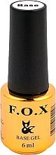 Düfte, Parfümerie und Kosmetik Base für Gel-Nagellack - F.O.X Base Strong Gel