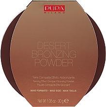 Düfte, Parfümerie und Kosmetik Bronzepuder - Pupa Desert Bronzing Powder