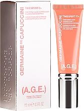 Düfte, Parfümerie und Kosmetik Korrigierende und aufhellende Creme für die Augenpartie - Germaine de Capuccini Timexpert C+(A.G.E.) Eye Contour Correction and Luninocitty Express