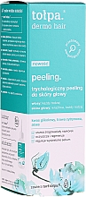 Düfte, Parfümerie und Kosmetik Kopfhautpeeling mit Glykolsäure, Zitronengras und Aloe - Tolpa Dermo Hair Peeling