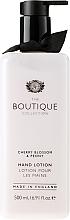 Düfte, Parfümerie und Kosmetik Handlotion mit Kirschblüte und Pfingstrose - Grace Cole Boutique Cherry Blossom and Peony Hand Lotion