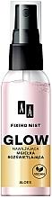 Düfte, Parfümerie und Kosmetik Feuchtigkeitsspendendes Make-up Fixierspray - AA Fixing Mist Glow