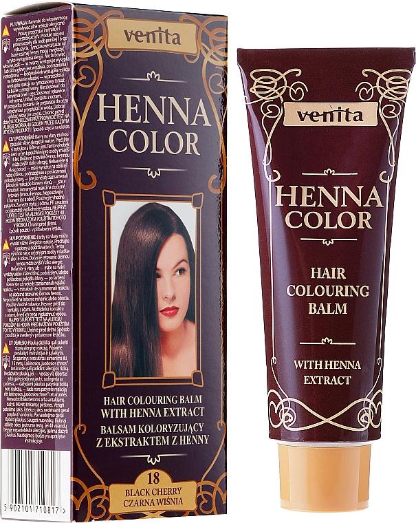 Haartönungsbalsam mit Henna-Extrakt - Venita Henna Color