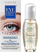 Düfte, Parfümerie und Kosmetik Feuchtigkeitsspendendes Augen- und Lippenkonturgel - Floslek Eye Care Bioactive Moisturizing Gel Under Eyes And Around Mouth Area