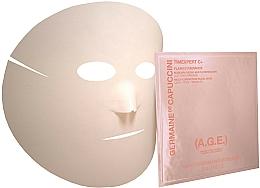 Düfte, Parfümerie und Kosmetik Tuchmaske für das Gesicht gegen Falten mit Vitamin C - Germaine de Capuccini Timexpert C+ Flash C Radiance Multi-Correction Facial Mask