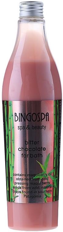 Schaumbad mit Bitterschokolade und Maqui Beerenöl - BingoSpa Bitter Chocolate For Bath