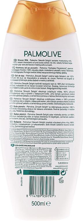 Duschmilch mit Macadamia und Kakao - Palmolive Naturals Smooth Delight Shower Milk — Bild N4