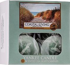 Teelichter Coastal Living - Yankee Candle Coastal Living Tea Light Candles — Bild N1
