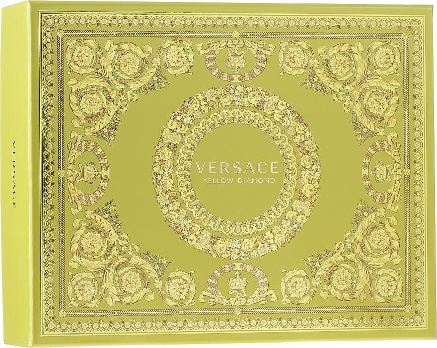 Versace Yellow Diamond - Duftset (Eau de Toilette 50ml + Körperlotion 50ml + Duschgel 50ml)