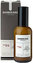 Düfte, Parfümerie und Kosmetik Gesichts- und After-Shave-Creme - Barberians. №D1 Face Cream & Aftershave