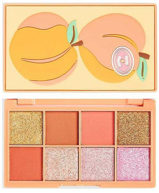 Lidschattenpalette - I Heart Revolution Mini Tasty Peach Eyeshadow Palette — Bild N1