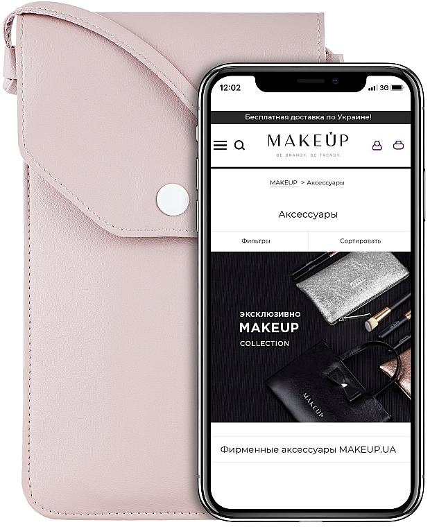 Handytasche zum Umhängen Cross Puder - Makeup Phone Case Crossbody Powder