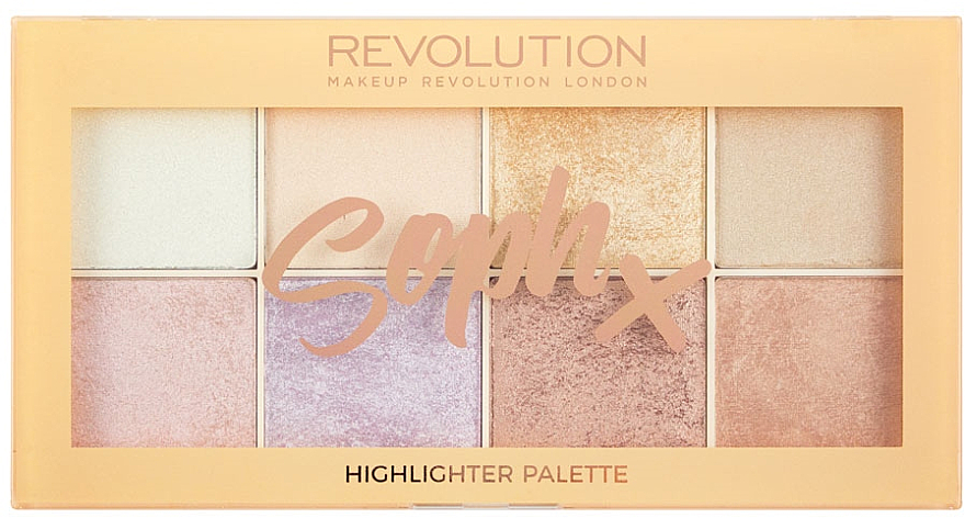 Highlighter-Palette - Makeup Revolution Soph Highlighter Palette