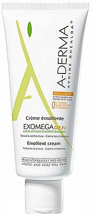 Gesichts- und Körpercreme mit aktiven Pflanzenextrakten - A-Derma Exomega D.E.F.I Emollient Cream — Bild N2