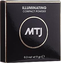 Düfte, Parfümerie und Kosmetik Aufhellender Kompaktpuder für das Gesicht - MTJ Cosmetics Illuminating Compact Powder