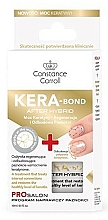Düfte, Parfümerie und Kosmetik Nagelhärter mit Keratin - Constance Carroll Nail Care Kera-Bond After Hybrid