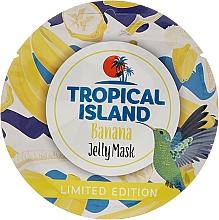 "Düfte, Parfümerie und Kosmetik Aufhellende Gesichtsmaske ""Banane"" - Marion Tropical Island Banana Jelly Mask"