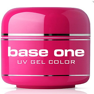 UV Nagelgel gelb - Silcare Base One Color Pastel