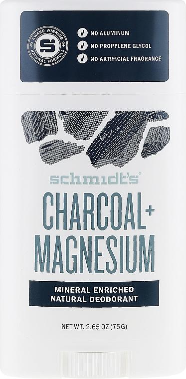 Natürlicher Deostick - Schmidt's Deodorant Stick Charcoal & Magnesium
