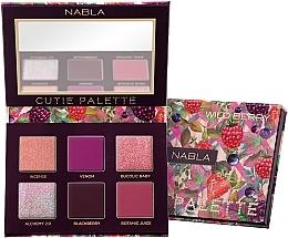 Düfte, Parfümerie und Kosmetik Lidschattenpalette - Nabla Cutie Collection Palette Wild Berry