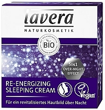 Energetisierende Nachtcreme - Lavera Re-Energizing Sleeping Cream — Bild N2