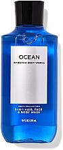 Düfte, Parfümerie und Kosmetik 3in1 Duschgel für Körper, Gesicht und Haar - Bath and Body Works Men`s Collection Ocean 3 In 1 Hair, Face & Body Wash