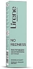Düfte, Parfümerie und Kosmetik Grundierung gegen Hautrötungen - Lirene No Redness