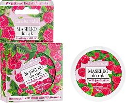 Düfte, Parfümerie und Kosmetik Feuchtigkeitsspendende Handbutter mit Himbeerextrakt - Bielenda Hand Butter Moisturizing Raspberry