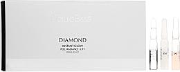 Düfte, Parfümerie und Kosmetik 3-stufige Anti-Aging Gesichtsampullen - Natura Bisse Diamond Instant Glow Express Mini-Lift