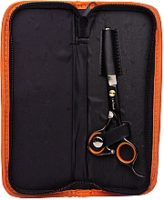 Düfte, Parfümerie und Kosmetik Professionelle Friseurschere im Etui TS02 15,5 cm - Lila Rossa Frizy Cut