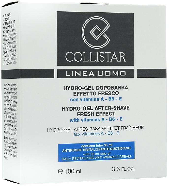 Gesichtspflegeset - Collistar (After Shave Gel/100ml + Anti-Falten Creme/30ml)