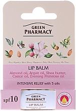 Düfte, Parfümerie und Kosmetik Lippenbalsam mit 5 pflanzlichen Ölen - Green Pharmacy Lip Balm With 5 Oils, SPF 10