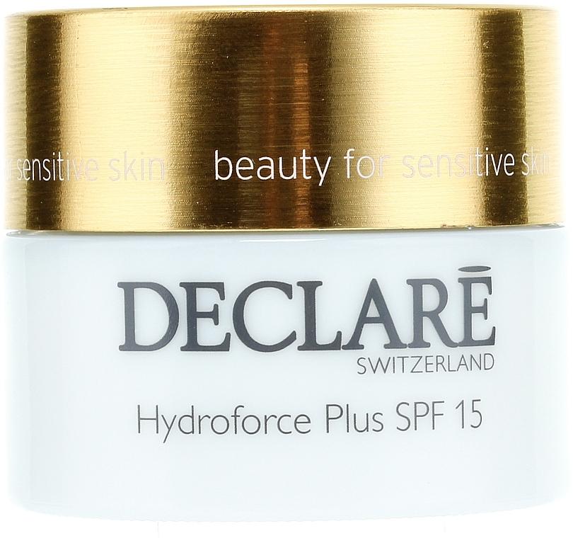 Feuchtigkeitsspendende und pflegende Gesichtscreme SPF 15 - Declare Hydroforce Plus SPF 15 Cream — Bild N2