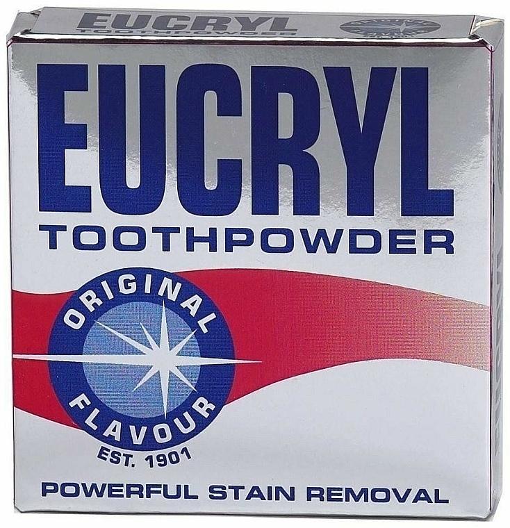 Bleichender Zahnpulver - Eucryl Toothpowder Original