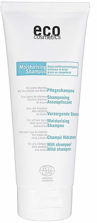 Mildes Shampoo mit Olivenblatt und Malve - Eco Cosmetics