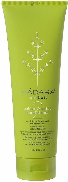 Conditioner für gefärbtes und chemisch behandeltes Haar - Madara Cosmetics Colour & Shine Conditioner