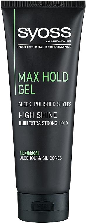 Styling-Gel extra starker Halt - Syoss Max Hold