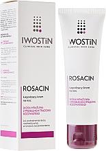 Düfte, Parfümerie und Kosmetik Beruhigende Nachtcreme für das Gesicht bei Rosacea - Iwostin Rosacin Redness Reducing Night Cream