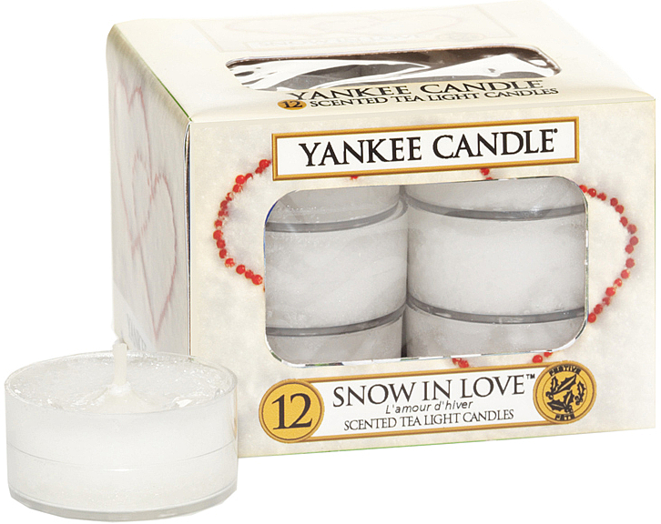 Teelichter Snow in Love - Yankee Candle Scented Tea Light Candles Snow in Love — Bild N1