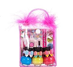 Düfte, Parfümerie und Kosmetik Nagellackset - Tutu Peel-Off (Nagellack 3x5ml + Kosmetiktasche)