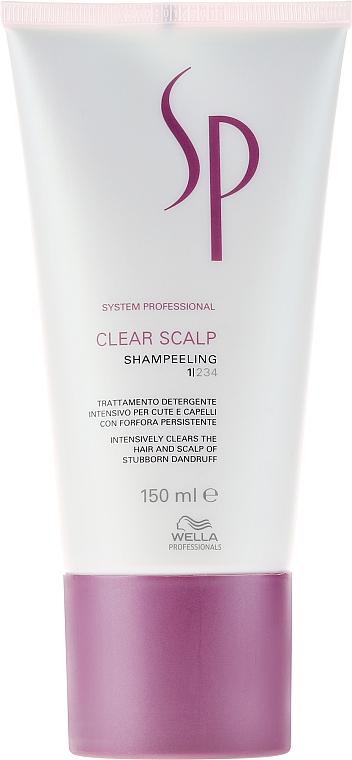 Intensives Shampoo gegen Schuppen - Wella Professionals Clear Scalp Shampeeling