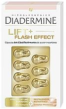 Düfte, Parfümerie und Kosmetik Straffende Anti-Aging Gesichtskapseln mit Lifting-Effekt - Diadermine Lift+ Flash Effect Capsules