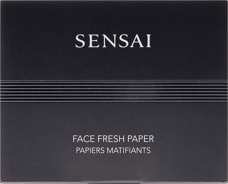 Mattierende Gesichtstücher - Kanebo Sensai Face Fresh Paper