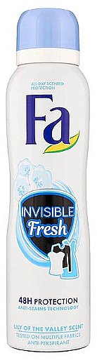 Deospray Antitranspirant - FA Invisible Fresh Lily of the Valley — Bild N1