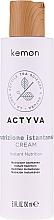Düfte, Parfümerie und Kosmetik Haarcreme ohne Ausspülen - Kemon Actyva Nutrizione Istantanea Cream