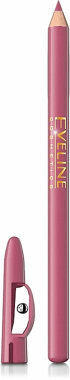 Lippenkonturenstift mit Anspitzer - Eveline Cosmetics Max Intense Colour
