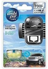 Düfte, Parfümerie und Kosmetik Auto-Lufterfrischer-Set Leichte Brise - Ambi Pur (Aroma-Diffusor 1 St. + Refill 7ml)