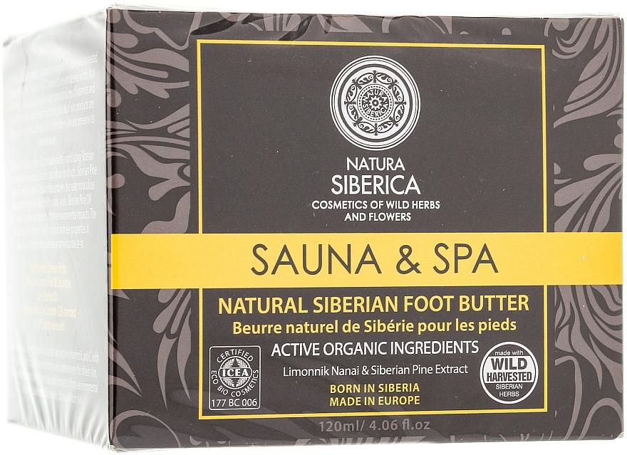 Natürliche nährende Fußbutter - Natura Siberica Foot Butter