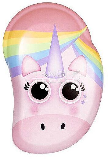 Kinder-Haarbürste - Tangle Teezer The Original Mini Children Detangling Hairbrush Rainbow The Unicorn