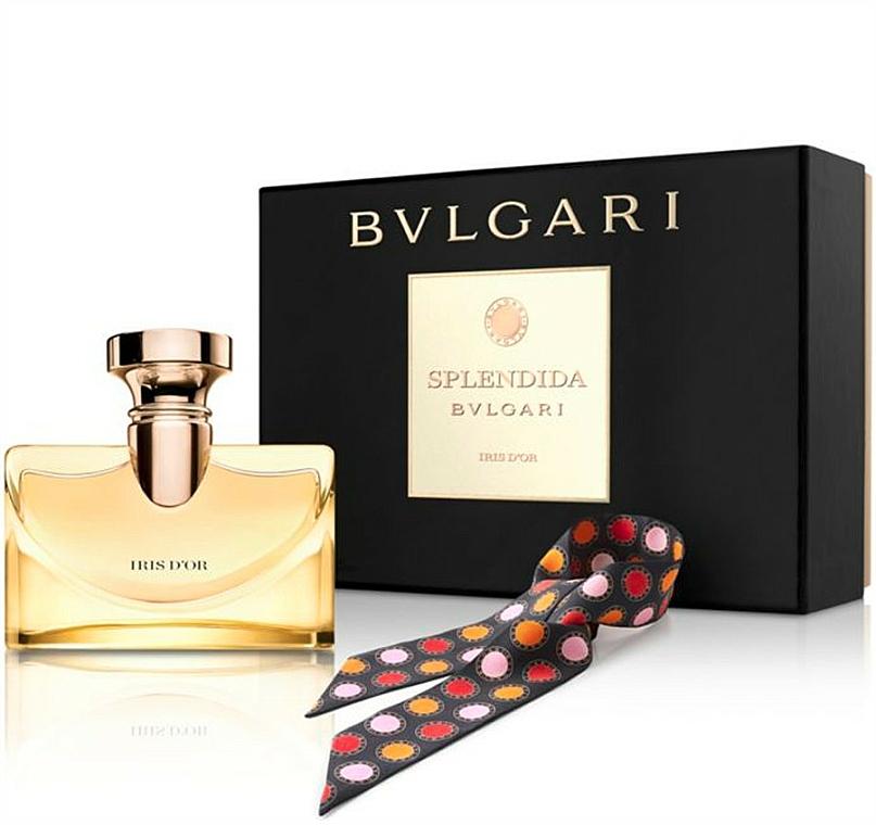 Bvlgari Splendida Iris D`Or - Duftset (Eau de Parfum/100ml + Schal)